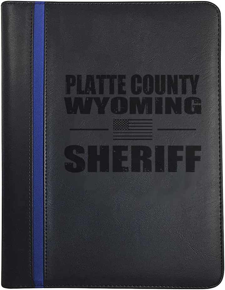 Wyoming Platte County All Counties Sheriff Padfolio Deputy Notep Arlington Mall Gorgeous
