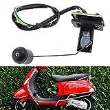 Sostituzione auto e moto Parti del motore Serbatoio benzina livello olio serbatoio galleggiante sensore universale Gas Scooter Motobike Motociclo Accessori livello carburante Indicatori Sensori di flu