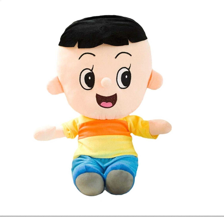 8haowenku Plush Toys, Cartoon Cute Big Son, Little Head Daddy, Plush Toy Doll Doll Pillow, Birthday Present, Best Gift Ulster Models (Dimensione: Big Head Son)