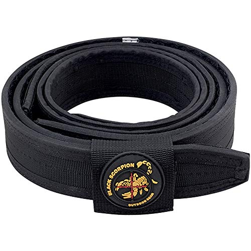Black Scorpion Outdoor Gear Professional Heavy Duty Competition Belt for IPSC, USPSA, 3 Gun Shooting - X-Large