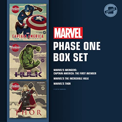 Marvel's Phase One Box Set     Marvel's Captain America: The First Avenger; Marvel's The Incredible Hulk; Marvel's Thor              By:                                                                                                                                 Marvel Press                               Narrated by:                                                                                                                                 Tom Taylorson,                                                                                        Jim Meskimen,                                                                                        Ray Chase                      Length: 8 hrs and 32 mins     6 ratings     Overall 4.7