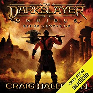 The Darkslayer Omnibus audiobook cover art