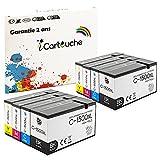 iCartucho de tinta compatible con Canon PGI-1500XL 1500 XL para impresora Canon Maxify MB2020 MB2050 MB2155 MB2150 MB2320 MB2350 MB2750 MB2755 (2BK / 2C / 2M / 2Y)