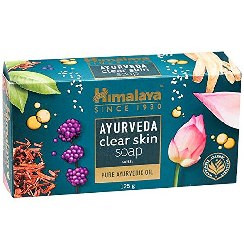 Himalaya Ayurveda Clear Skin Soap India, 125 g