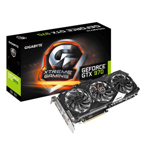 GIGABYTE GeForce GTX 970 Xtreme Gaming WF3 4GB GDD