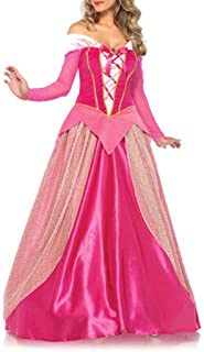 プレフィックス精緻化達成するGetupp オーロラ姫 仮装 レディース ディズニー プリンセス ドレス コスチューム 大人 衣装 コスプレ 眠れる森の美女 ピンクドレス ハロウインドレス 撮影用 パーティー クリスマス 発表会 誕生日 ハロウイン 演出