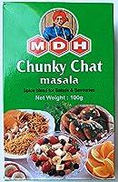 MDH Chunky Chat masala - チャットマサラ 100g ミックススパイス - 日本語レシピ付き