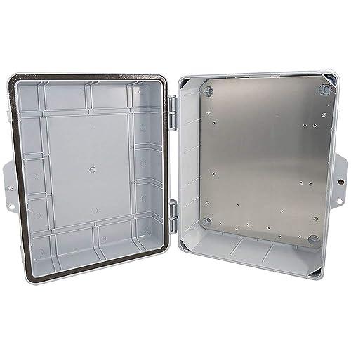 Altelix 24x24x12 Steel NEMA Box 4X Weatherproof Outdoor Equipment Enclosure