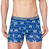 Jack & Jones JACBAT Trunks STS Bxer, Azul auténtico, M para Hombre