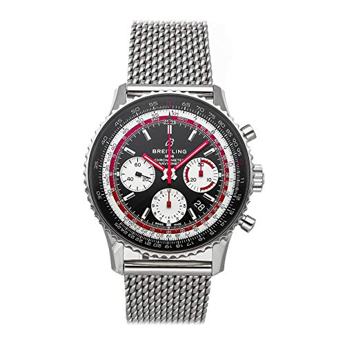 Breitling Navitimer Mechanical(Automatic) Black Dial Watch AB01211B1B1A1 (Pre-Owned)