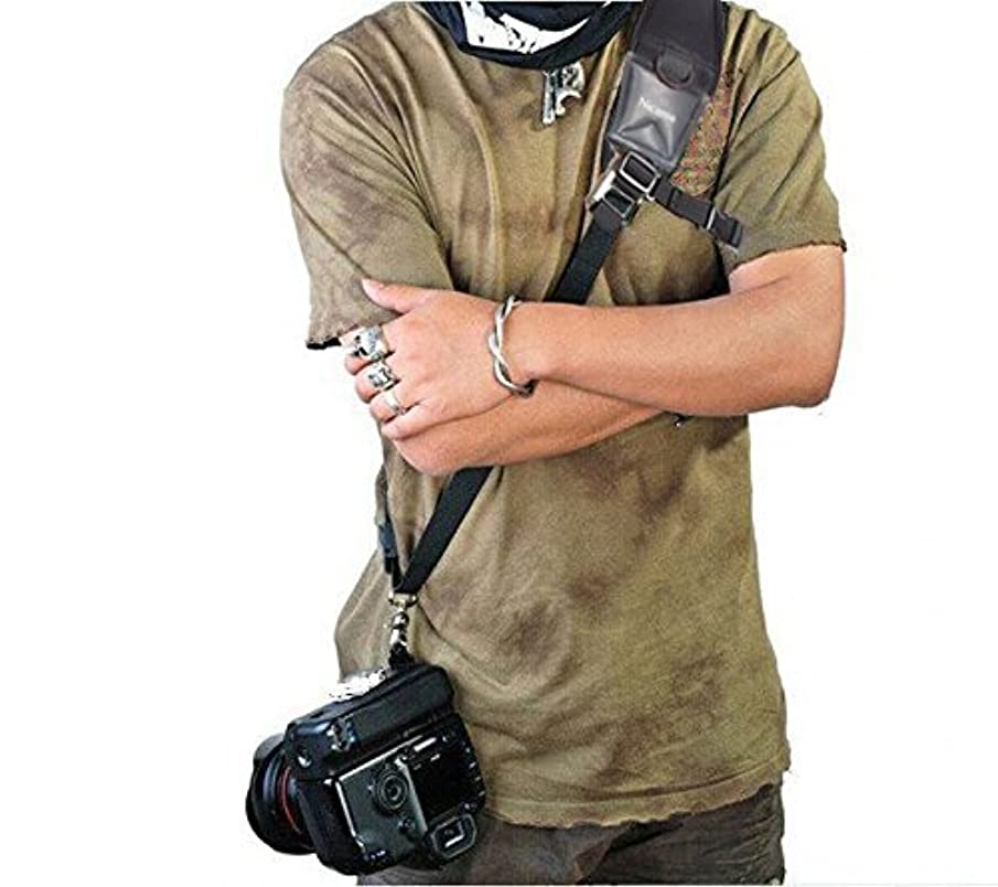 Camera Strap, Nicama CS1 DSLR Quick Rapid Shoulder Sling Neck Belt with A Secure Rope for All Cameras Canon Nikon Pentax Olympus Fujifilm X100F X-T20 X-T2 X70 X-Pro2,Sony A6000 A630