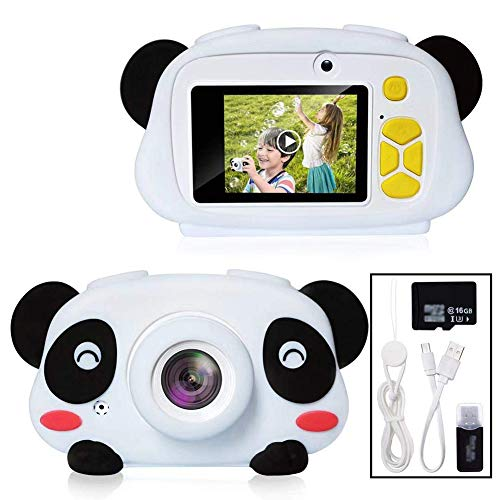 Great Features Of AG-NYQ 24 Million Pixel HD Children's Digital Camera Toy, Children's Self-Timer Ca...