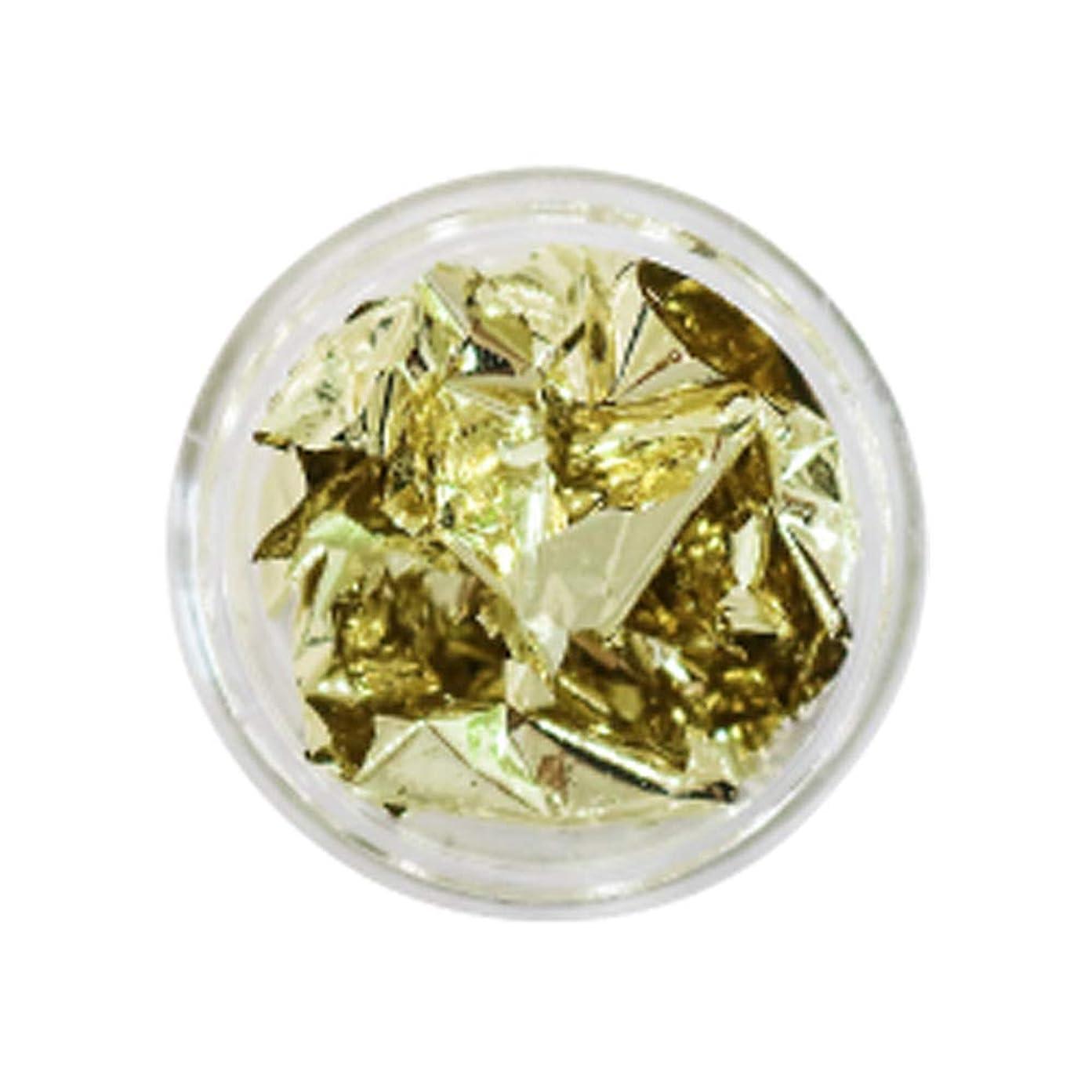 意気消沈した増強する食用Bonnail(ボンネイル) 箔セレクション ライトゴールド