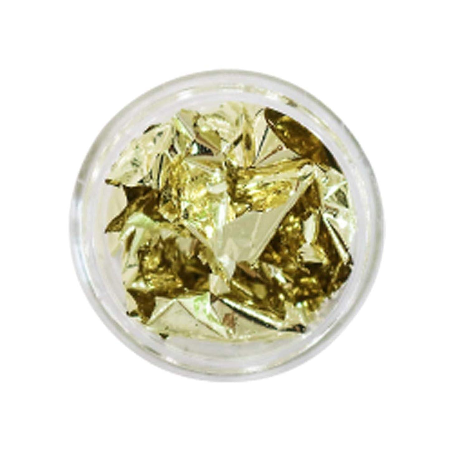 敬手入れ海岸Bonnail(ボンネイル) 箔セレクション ライトゴールド