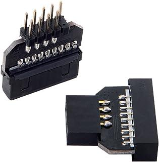 Hållbar adapterplugg USB2.0 9p till USB3.0 19p USB3.0 19/20p till USB2.0 9p Fint utförande Bra prestanda