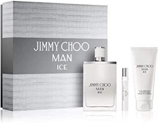 Jimmy Choo Ice Eau de Toilette, After Shave Balm and Mini Set, 208 ml - Pack of 1