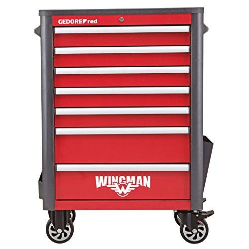 GEDORE red Werkstattwagen WINGMAN mit 7 Schubladen