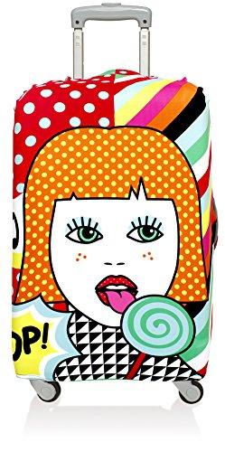 LOQI POP Lollipop Luggage Cover - Kofferhülle