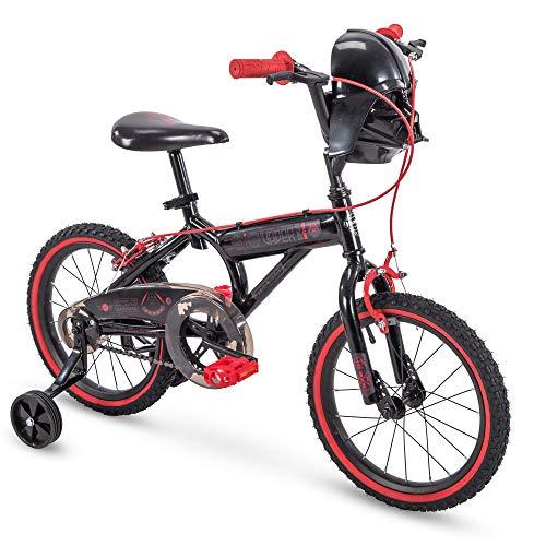 Huffy 72188 Star Wars Darth Vader 12 Inch Toddler Boys Bike with Training Wheels, Black