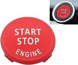 Red Start Stop Engine Button Switch Cover for BMW X5 E70 X6 E71 3 E90 E91 E92 E93 E87 E83 E89 320 520 525 328i(2007-2011) 335i 330i