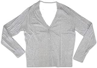 Banana Republic Women's L/S Forever Yarn Lightweight Cardigan Sweater (Medium) Gray