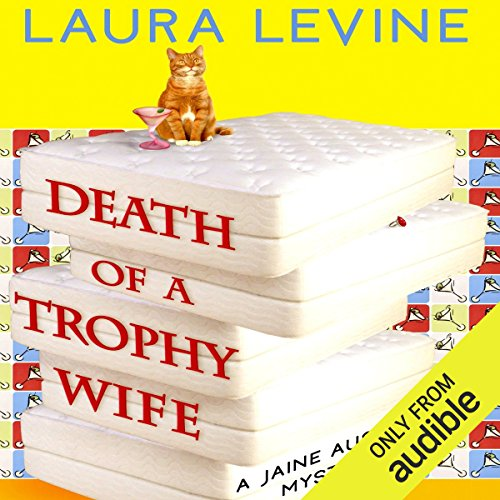 Death of a Trophy Wife audiobook cover art