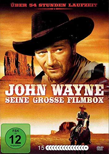 John Wayne - Seine große Filmbox - mit 48 legendären Filmen [15 DVDs]