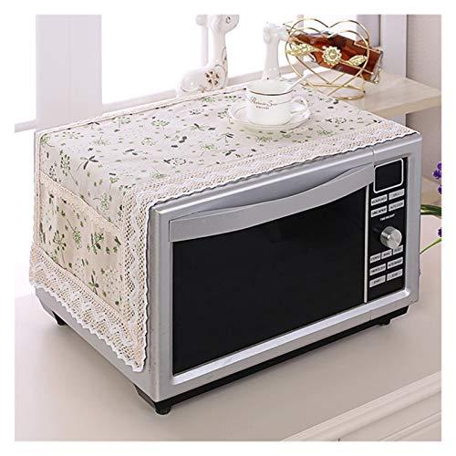 JINAN 1 housse de protection pour four à micro-ondes avec sac de rangement - Accessoires de cuisine - Décoration d'intérieur (couleur : 469895)