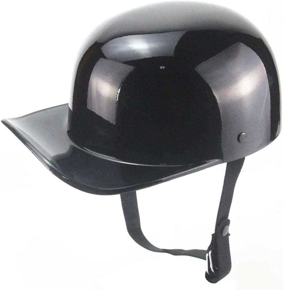 CLTWYZ Vintage Motorcycle National products Half Helmet Skull Light C Cap Baseball Max 63% OFF