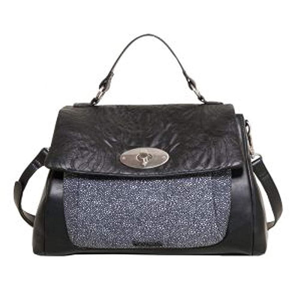 コンピューターを使用するメカニックマイクロDESIGUAL - ブラックフライデープラハショルダーストラップ付きレディースバッグ