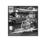 Poster, Motiv: Rage Against The Machine, gerahmt, 30 x 30