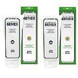 2x Erboristeria Magentina - BENEX Gel Freddo per le Gambe - 200 ml | Sollievo immediato per gambe...