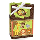 Funfari - Fun Safari Jungle - Baby Shower or Birthday Party Favor Boxes (Set of 12)