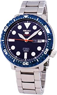 Seiko Mens Analogue Automatic Watch with Stainless Steel Strap SRPC63K1
