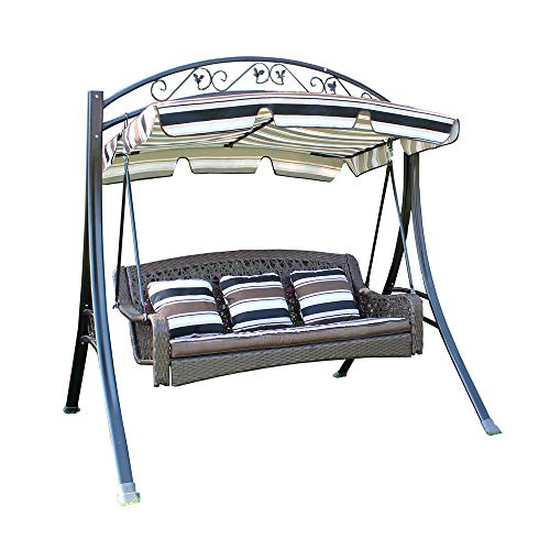 YY FLY Outdoor Patio Swing,Wing with Canopy,Porch...