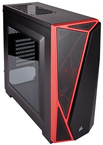 Corsair Carbide SPEC-05 Case da Gaming, Mid-Tower ATX, Finestra Laterale, Nero