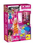 Liscianigiochi- Lisciani, Barbie Glitter Dough Desfile de Moda, 600 g de plastilina con Purpurina y Kit, 88867-Juego Creativo para niñas a Partir de 4 años, Multicolor (88867)