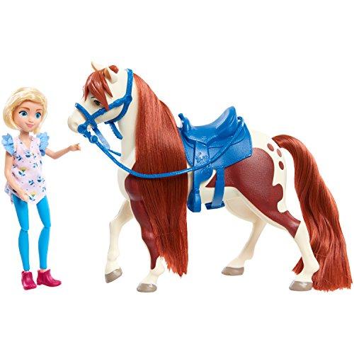 Spirit Kleine Puppe und Klassisches Pferd, Abigail und Boomerang