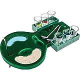B&F SPDGOLF Golf Shot Glass Drinking Game Set [Eyewear], Green