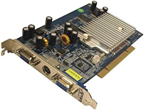PNY GeForce FX 5200 PCI 256 MB 2 Port VGA + S-Video Graphics Card VCGFX522PEB - Retail