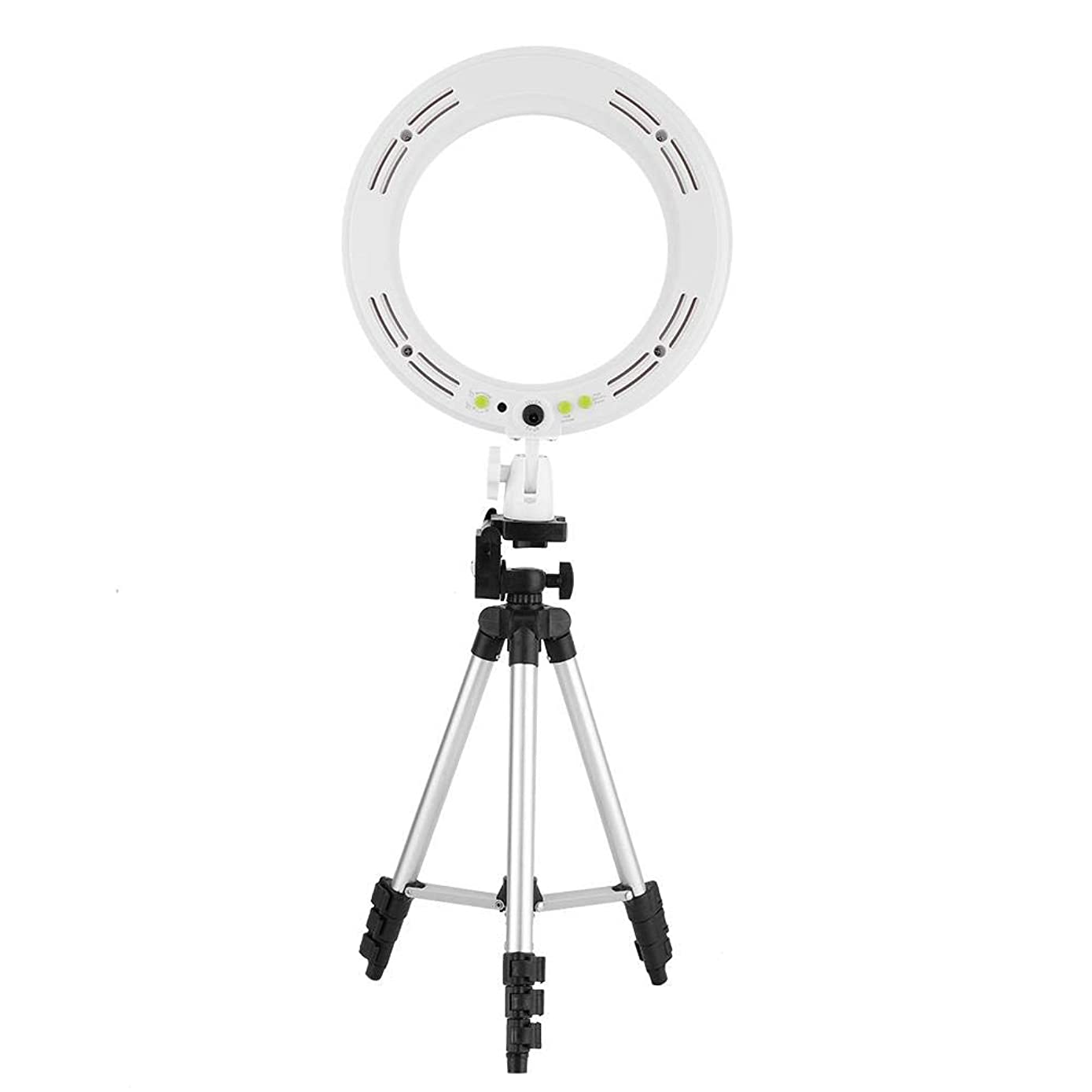 Ring Light with Tripod Stand Dimmable LED Fill Light Kit, LED Video Ring Light Fill-in Lamp Studio Photography Lighting for YouTube Video Selfie Live Stream and Makeup,10 inch Light