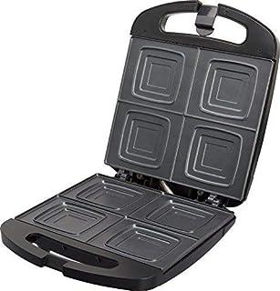 comprar comparacion Jata SW546 Sandwichera Compacta Familiar para 4 Sándwiches con Placas Antiadherentes Libre de PFOA Sellado Perfecto Almace...