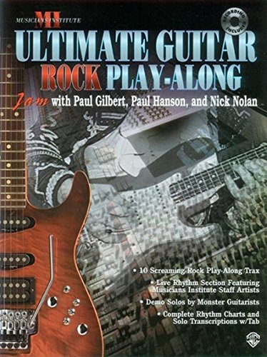Ultimate Play-Along Guitar Trax Rock: Book & CD