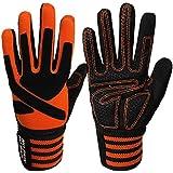 Fitness Gloves Full Finger Men Women with Wrist...