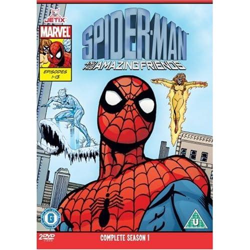 Spider-Man & His Amazing Friends - Complete Season One [Edizione: Regno Unito] [Edizione: Regno Unito]