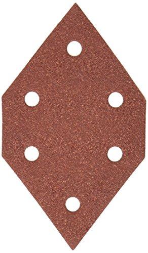 PORTER-CABLE 767601205 120 Grit Diamond-Shaped Hook & Loop Profile Sanding Sheets (5-Pack)