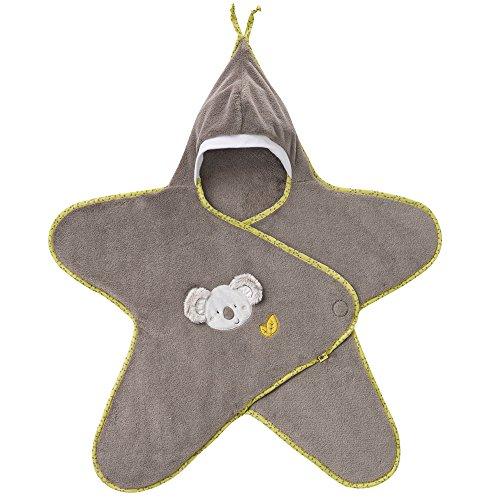 Fehn 064209 Einschlagdecke Koala – Kuschelige Decke zum Mitnehmen für Babys von 0-6 Monaten – Maße: 70 x 80 cm
