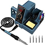 Best Soldering Stations - Soldering Station With Additional 5 Tips HANMATEK Digital Review