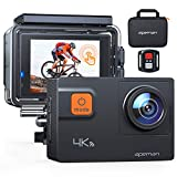 APEMAN A87 Action Camera 4K 60FPS Touch Screen Sports Camera 2.4G Remote Control