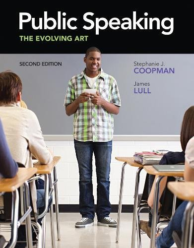 Public Speaking: The Evolving Art (with CourseMate with Interactive Video Activities, Speech Studio™, Audio Study Tool,